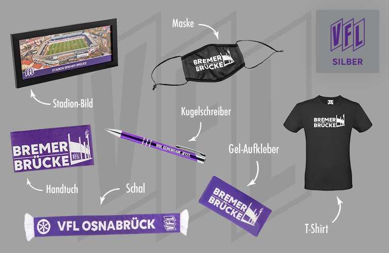 VfL Osnabr/ück Br/ückenbox Gold